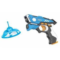 Zestaw: Pistolet Laserowy Paintball + Latający Cel (UFO).