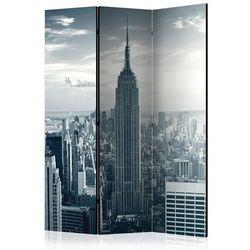 Parawan 3-częściowy - Widok na nowojorski Manhattan o świcie [Room Dividers]