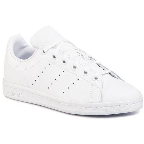 Buty sportowe dla dzieci, Buty adidas - Stan Smith J S76330 Ftwwht/Ftwwht/Ftwwht