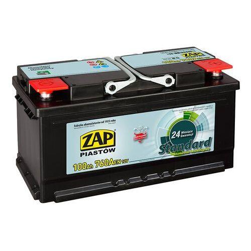 Akumulatory samochodowe, Akumulator ZAP Standard 100Ah 760A PRAWY PLUS
