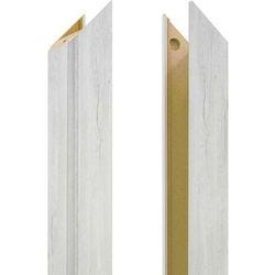 Baza ościeżnicy regulowana 135-155 mm lewa do drzwi bezprzylgowych dąb silver