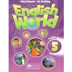 English World 5 PB + eBook + CD MACMILLAN - Mary Bowen, Liz Hocking - książka