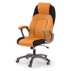 Asp fotel gamingowy dla graczy pomarańczowo-czarny