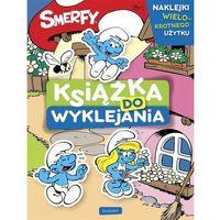 Książki dla dzieci, Smerfy Książka do wyklejania - Jeśli zamówisz do 14:00, wyślemy tego samego dnia. (opr. broszurowa)