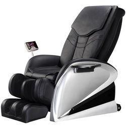 Fotel do masażu inSPORTline Sallieri czarny - Kolor Czarny