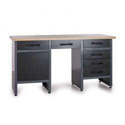 Stół roboczy HOBBY III, 6x szufladka, 1x szafka