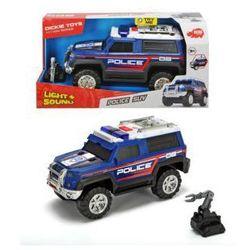 Auto Policja SUV czarny 30 cm. Darmowy odbiór w niemal 100 księgarniach!