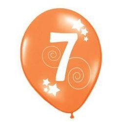 Balony z nadrukiem 7 - 30 cm - 12 szt.