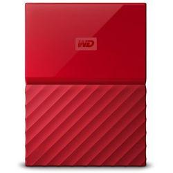 Western Digital My Passport zewnętrzny dysk twardy, czerwony 4 TB