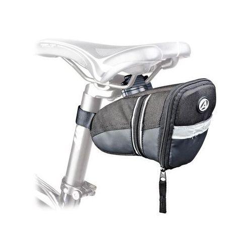 Sakwy, torby i plecaki rowerowe, 15-002140 Torba podsiodłowa AUTHOR A-S305 QF3 czarna