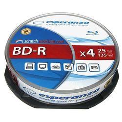 Esperanza BD-R 25GB x4 - Cake Box 10