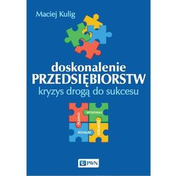 Doskonalenie przedsiębiorstw.Kryzys drogą do sukcesu - Dostawa 0 zł (opr. miękka)