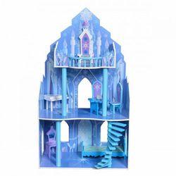 """Drewniany domek dla lalek Barbie """"Rezydencja Lodowa"""""""