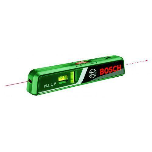 Poziomice laserowe, Poziomica laserowa Bosch Home and Garden PLL 1 P 0603663300, Dokładność libelli: 0.5 mm/m