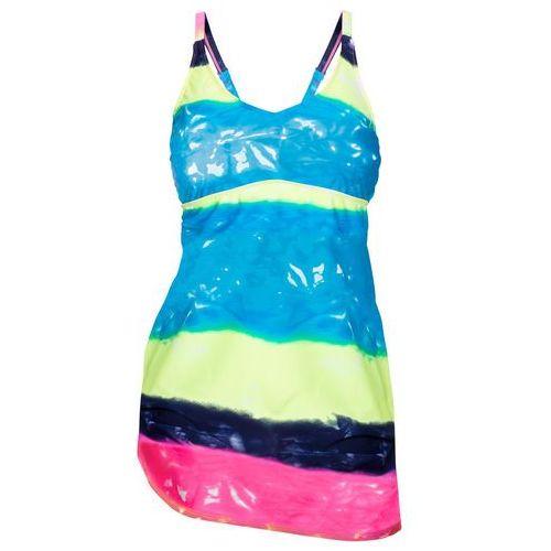 Stroje kąpielowe, Sukienka kąpielowa bonprix kolorowy batikowy