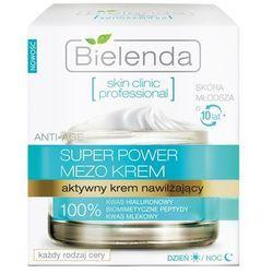 Skin Clinic Professional Aktywny krem nawilżający na dzień i noc 50ml Bielenda