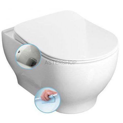 GARCIA Miska WC podwieszana z dyszą bidetową, 36,5x52,5 cm 100512, 100512