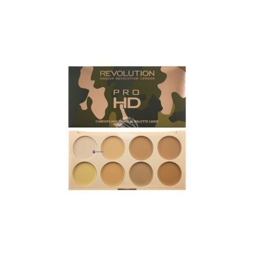 Korektory do twarzy, Makeup Revolution Ultra Pro HD Camouflage (W) paleta korektorów do twarzy Light 10g