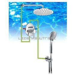 OMNIRES Kompletny system łazienkowy, podtynkowy, chrom SYS21