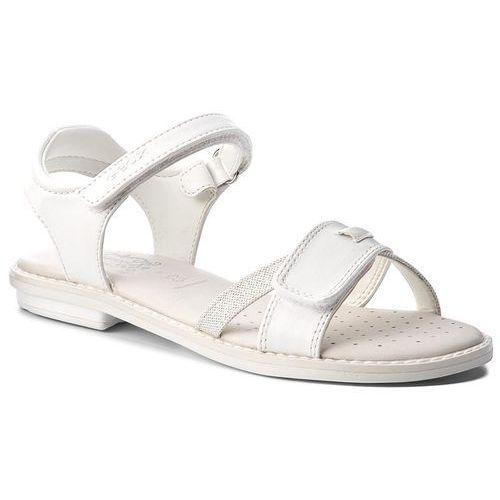 Sandały dziecięce, Sandały GEOX - J Sand.Giglio B J62E2B 054AS C1002 Off White