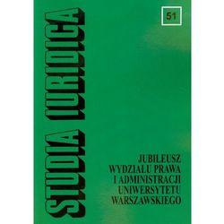 Studia Iuridica tom 51 (opr. miękka)