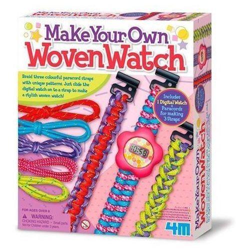 Kreatywne dla dzieci, Wyplatany Zegarek