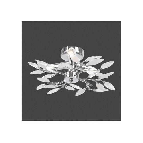 Lampy sufitowe, Plafon LAMPA sufitowa VIDA 63160-4 Globo OPRAWA chrom