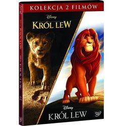 KRÓL LEW - PAKIET 2 FILMÓW (2DVD) (ANIMOWANY/ FABULARNY) (Płyta DVD)