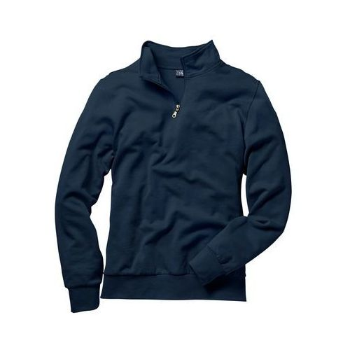 Pozostała odzież sportowa, Bluza ze stójką bonprix granatowy