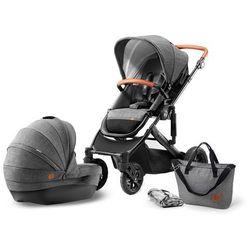 KinderKraft wózek dziecięcy PRIME 2w1 Grey - BEZPŁATNY ODBIÓR: WROCŁAW!