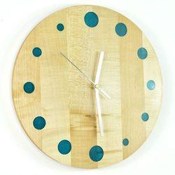 Epoxy Clock - Refill - Zegar ścienny z żywicą Jawor
