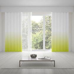 Zasłona okienna na wymiar - SPRING GREEN - KOLOR 150 CM