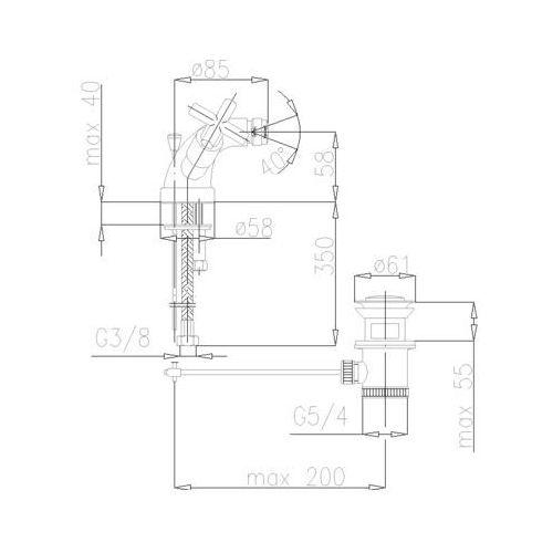 Bateria KFA Symetric 347-015-00