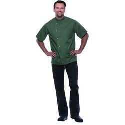 Bluza kucharska męska, rozmiar 56, oliwkowa | KARLOWSKY, Gustav