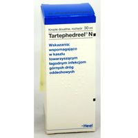 Homeopatia, HEEL Tartephedreel N krop.doustne - 30 ml (butelka)