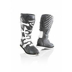 Buty acerbis x-race z ukrytym zawiasem szary