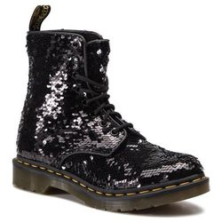 Glany DR. MARTENS - 1460 Pascal Seqn 24591016 Black/Silver