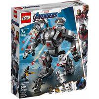 Klocki dla dzieci, 76124 POGROMCA WAR MACHINE ( War Machine Buster )- KLOCKI LEGO SUPER HEROES