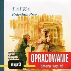 """Bolesław Prus """"Lalka"""" - opracowanie - Marcin Bodych, Andrzej I. Kordela"""