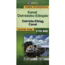 Kanał Ostródzko-Elbląski mapa turystyczna 1: 70 000 (opr. miękka)