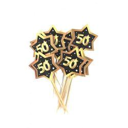 Wykałaczki, pikery na 50 urodziny Gwiazdy