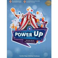 Książki do nauki języka, Power Up Level 4 Activity Book with Online Resources and Home Booklet (opr. miękka)