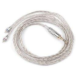 Kabel Jack 3.5 mm - 2 x 2pin KZ Braided 1.2 m