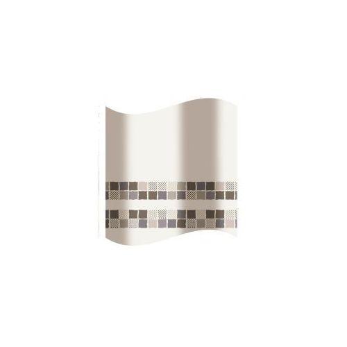 Awd interior zasłonka prysznicowa brąz mozaika awd02100851