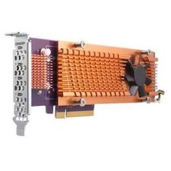 Karta rozszerzeń do serwera NAS QNAP QM2-4S-240 PCI-E x4 Gen 2 4x M.2 2280 LP