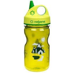 Butelka dla dzieci NALGENE Grip´n Gulp 350 ml, Różowy słoń
