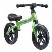 Rowerki biegowe, Rowerek biegowy 10 eva BIKESTAR obracana rama 2w1 lekki 3kg zielony