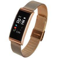 Smartbandy, Smartwatch Garett Women Tina złoty stalowy