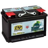 Akumulatory samochodowe, Akumulator ZAP Standard 74Ah 680A PRAWY PLUS