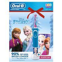 Szczoteczki do zębów, Oral-B elektryczna szczoteczka do zębów Vitality Frozen + kubeczek